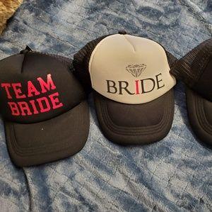 BRAND NEW TEAM BRIDE HATS